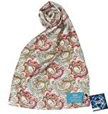 Today Sale  Seventh Doctor (Sylvester McCoy) Scarf - Official BBC Doctor Who 7th Doctor 100% Pure Silk Scarf by LOVARZI