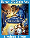 61FCRvfKYgL. SL160  Beauty and the Beast (Three Disc Diamond Edition Blu ray/DVD Combo in Blu ray Packaging)
