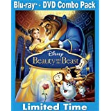 Beauty and the Beast (3-Disc BD/DVD Combo) [Blu-ray]by Paige O'Hara