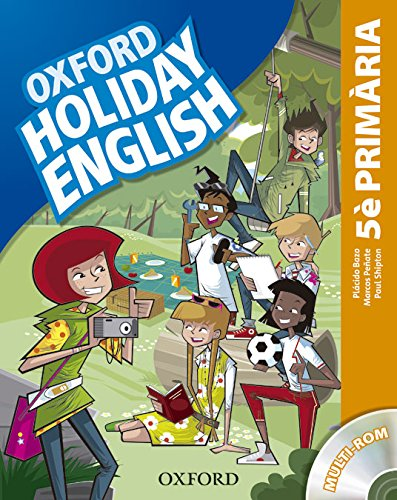 Holiday English 5º Primaria: Pack (catalán) 3rd Edition (Holiday English Third Edition)