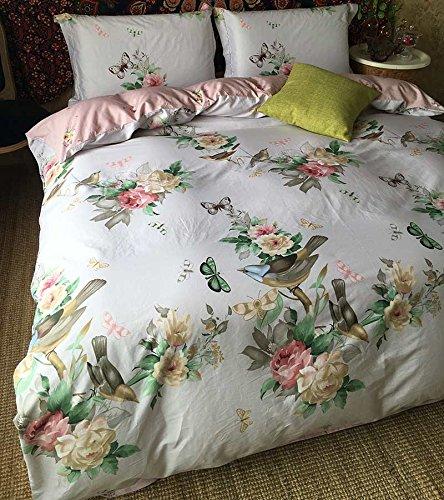 WaaiSo Semplice Puro cotone Morbido Confortevole biancheria da letto Set di biancheria da letto per bambini, studenti e camera da letto set 4,2.0m?adatto 6.6 inches letto ? ,&313