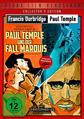 Francis Durbridge: Paul Temple und der Fall Marquis (Paul Temple Returns) - Collector's Edition / Hochspannende Durbridge-Verfilmung mit Christopher ... Kurzgeschichte (Pidax Film-Klassiker)