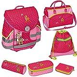 Spiegelburg Prinzessin Lillifee Feenball 11688 + 11784 + 11785 Ergo Style Plus Schulranzen-Set inkl. Sporttasche & Etui-Box