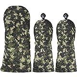 AZROF アズロフ ヘッドカバー ヘッドカバー デジカモカーキ(DR用×1+FW用×2) 3点セット デジカモカーキ