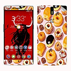 Theskinmantra Donut Choclate Onplus one mobile skin