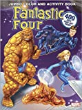 Fantastic Four Jumbo Color & Activity Book (0696225123) by Marvel