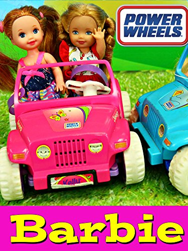 Barbie Kelly Power Wheels Frozen Kids Playground Park Adventure with Elsa, Anna & Baby Doll Parody