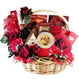 Art of Appreciation Gift Baskets My Gourmet Valentine Caviar and Chocolate Gift Set