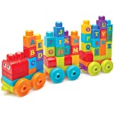 Mega Bloks ABC Learning Train Building Set (Color: Multi Color)