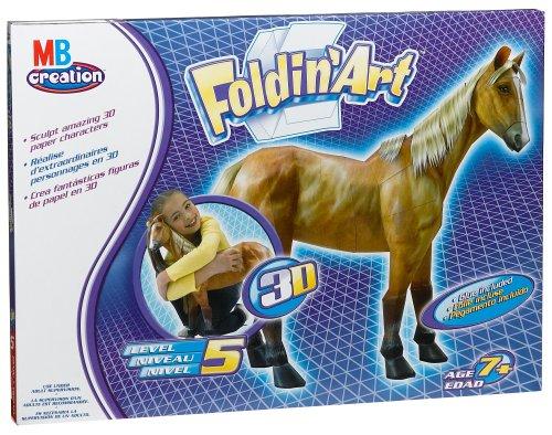 Foldin' Art 3D Horse