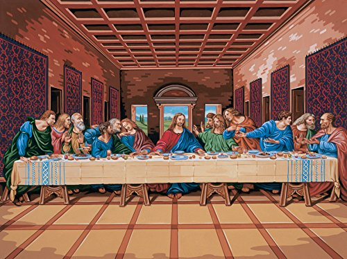 Reeves Painting by Numbers Artists Collection, 12 x 16-Inch, The Last Supper