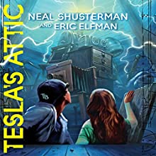Tesla's Attic: The Accelerati Trilogy, Book 1 Audiobook by Neal Shusterman, Eric Elfman Narrated by Vikas Adam