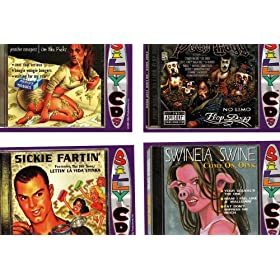Silly Cds Collector Cards