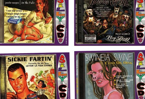 Silly Cd's Collector Cards