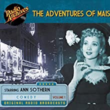 The Adventures of Maisie, Volume 1 Radio/TV Program by Samuel Taylor Narrated by  full cast