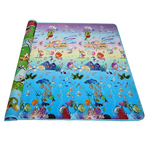 Arshiner Baby Kid Toddler Play Crawl Mat Carpet Playmat Foam Blanket Rug for In/Out Doors(US STOCK) (Kid Floor Mat compare prices)