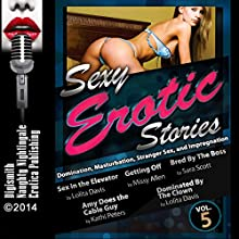 Sexy Erotic Stories: Domination, Masturbation, Stranger Sex, and Impregnation (       UNABRIDGED) by Lolita Davis, Kathi Peters, Sara Scott, Missy Allen Narrated by Layla Dawn, Desiree Divine