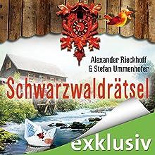 Schwarzwaldrätsel (Ein Fall für Hubertus Hummel 5) Hörbuch von Alexander Rieckhoff, Stefan Ummenhofer Gesprochen von: Ulrich Blöcher