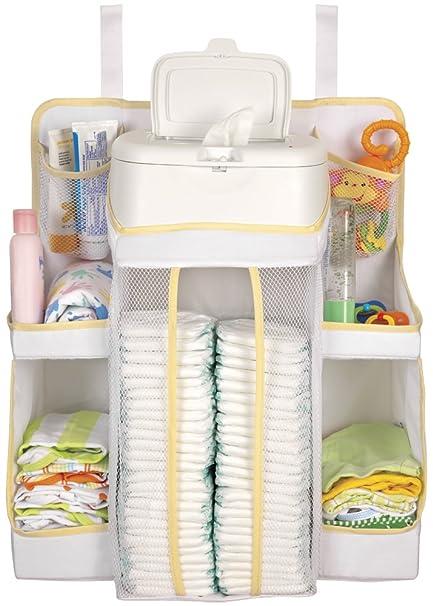 Amazon.com : Dexbaby Nursery Organizer, White : Nursery Hanging Organizers : Baby