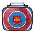 West Ham United FC Official Soccer Gift School Lunch Box Cool Bag