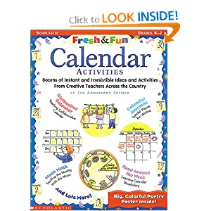 Fresh &amp; Fun:  Calendar Activities (Grades K-2)