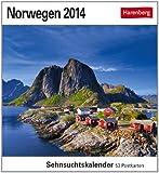 Norwegen 2014: Sehnsuchtskalender. 53 Postkarten