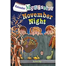 November Night: Calendar Mysteries, Book 11 (       UNABRIDGED) by Ronald Roy Narrated by Jim Meskimen