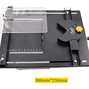 4YANG Gem Polishing Saw Kit, Jewelry Stone Polishing Machine Adjustable Speed Gem Grinding Machine Used As Jade Grinding Machine And Gem Cutter Carver For Jewelry Rock Gem (Black) (Color: Black)