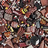 Incredible art Pieces Mixed lot Chocolate Food Resin Flatback cute Decoden Pieces,20pc per packet