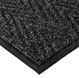 NoTrax 105 Chevron Entrance Mat, for Lobbies and Indoor Entranceways, 3\' Width x 4\' Length x 5/16\