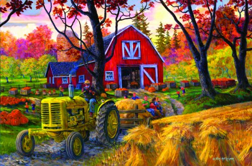 Hayride - 1000 Pieces Puzzle