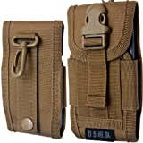 Universal Mobile Phone Cover Army Bag With Belt Loop Hook Pouch Holster Case For LG GT540 Optimus/Swift
