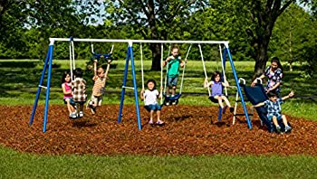 Flexible Flyer Play Around Metal Swing Set