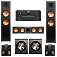 5.2-Channel Home Theater System with Klipsch Speakers, Bic Acoustech Subwoofer & Marantz Receiver