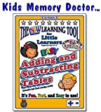 Kids Memory WIZARD for Memorizing Basic Adding Subtracting Facts (Tables), Interactive Self-check memorizing activity