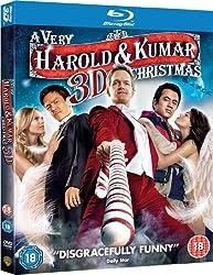 A Very Harold & Kumar 3D Christmas (Blu-ray 3D + Blu-ray + UV Copy) [2011][Region Free]