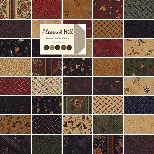 "Amazon.com: Moda PHEASANT HILL Charm Pack 5"" Fabric Quilting Squares"
