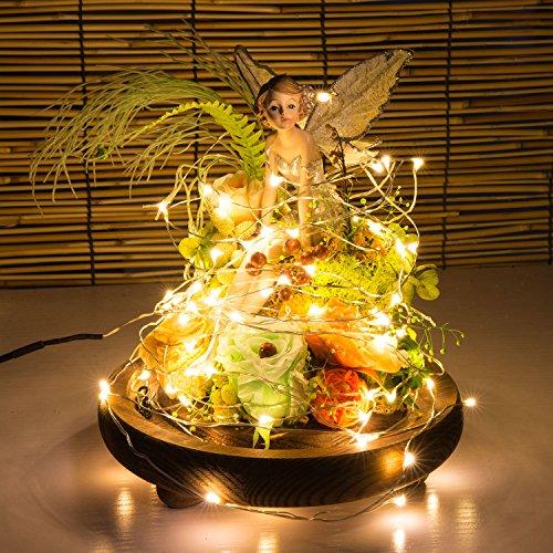 rope lights 60leds mini decorative indoor christmas party string lights starry copper. Black Bedroom Furniture Sets. Home Design Ideas