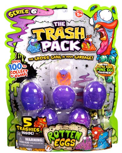 Trash Pack S6 Action Figure (5-Pack) (All Trash Pack Toys compare prices)