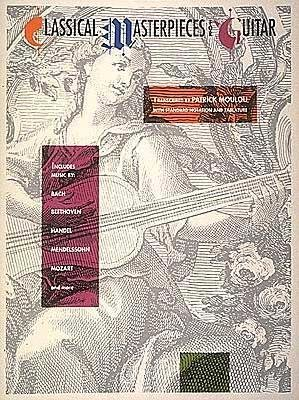 classical-masterpieces-for-guitar-author-patrick-moulou-published-on-july-1991