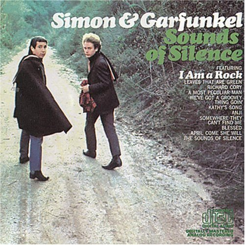 Original album cover of Sounds of Silence by Simon & Garfunkel