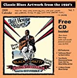 Classic Blues Artwork 1920's Calendar 2008