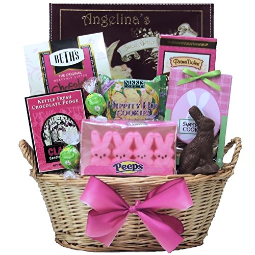 GreatArrivals Gift Baskets Delightful Easter Chocolate and Sweets Gift Basket 4 Pound