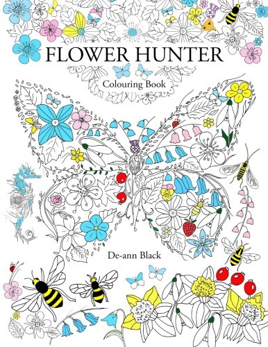 Flower Hunter: Colouring Book