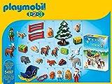 Playmobil 1.2.3 - 5497 - Calendrier De L'avent - 1.2.3 Père Noël Et Les Animaux De La Forêt