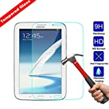 Kingsource Samsung Galaxy Note 8.0 inch GT - N5100/N5110 Tempered Glass Screen Protector Film [2.5D Round Edge] [9H Hardness] [0.33MM Thin][Crystal Clear] (Color: Samsung Galaxy Note 8.0 inch GT - N5100 / N5110)