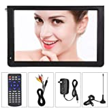 Eboxer ATSC Portable 4 Sizes Digital TV, TFT LED 1080P HDMI Television, Video Player for Home Car Outdoor Travel(12