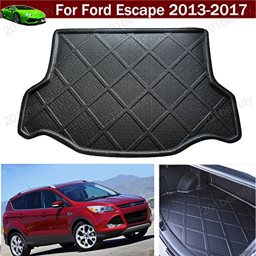 Car Boot Pad Carpet Car Mat Cargo Mat Trunk Liner Tray Floor Mat Cargo Liner For Ford Escape 2013 2014 2015 2016 2017 (Cargo Mats For Ford Escape compare prices)