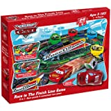 Pressman Cars Race to the Finish Line Race'n'Chase Game