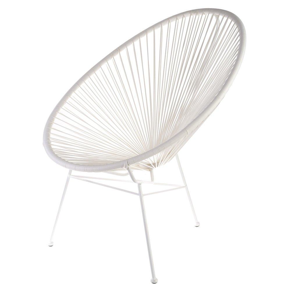Retro Sessel Acapulco Bahia Weiß Outdoor jetzt kaufen